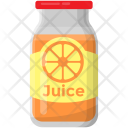 Orange Juice Fresh Icon
