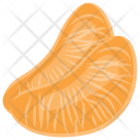 Orange Slices Pulp Icon
