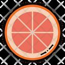 Orange Slice Slice Fruit Icon