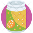 Orange Soda Icon