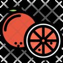 Orange Vegetables Fruit Icon