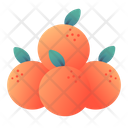 Oranges Chinese Newyear Icon