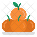 Oranges Healthy Orangefruit Icon
