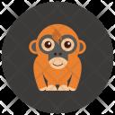 Orangutan Animal Icon