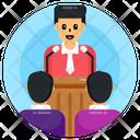 Talker Professional Speaker Orator Icon