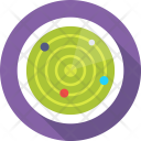 Orbit Solar Universe Icon