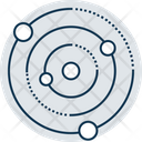 Orbit Atom Molecule Icon