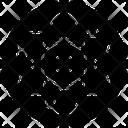 Orbit Science Symbol Atomic Model Icon