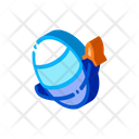 Exploration Fly Graphic Icon
