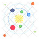 Orbit Science Space Icon