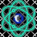 Orbit Molecule Nuclear Icon