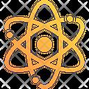 Orbit Molecule Nucleus Icon