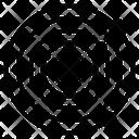 Orbital Tattoo Circle Design Decorative Circle Icon
