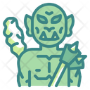 Orc Monster Halloween Icon