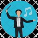Orchestra conductor Icon