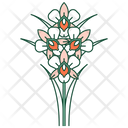 Orchid flower Icon