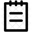 Order Sheet Resturent Icon