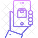 Hand Phone Box Icon