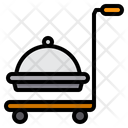Delivery Cart Tray Icon