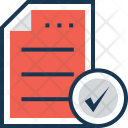 Order File Approved Icon