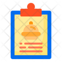 Clipboard Delivery Food Icon