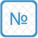 No Number Order Icon
