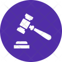 Order Hammer Judge Icon