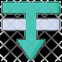 Order Backward Descending Arrow Icon