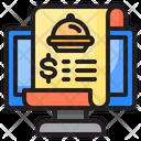 Receipt Bill Delivery Icon