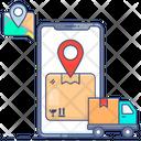 Order Cargo Shipping Address Shipping Location Icon