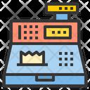 Order Checkout Cash Register Bill Generator Icon