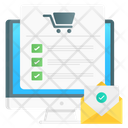 Online Order Order Booking Online Shopping Icon