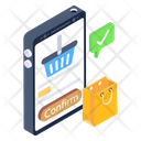 Order Check Verified Shopping Order Checkout Icon