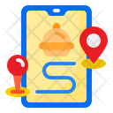Location Food Shipping Icon