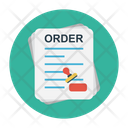 Order Document Certified Icon