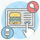 Order Food Order Booking Food Search Icon