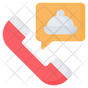Order Food Telephone Icon