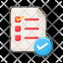 List Checklist Aprroved List Icon