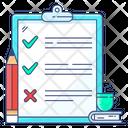Order List Shopping List Task List Icon