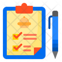 Clipboard Order Delivery Icon