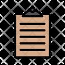 Order List Shopping List Document Icon
