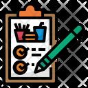 Order List Checklist Food Icon