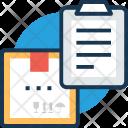 Delivery Invoice Box Icon