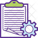 Order Management Processing Icon