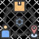 Order Management System Order Management Order Fulfillment Icon