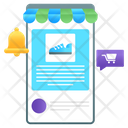 Order Notification Shopping Notification Product Alert Icon