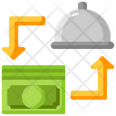 Cash Food Payment Icon