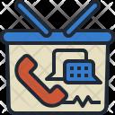 Phone Order Shopping Icon