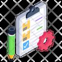 Checklist Order Processing Document Icon