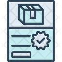 Order Parcel Package Icon